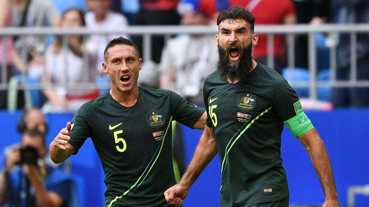 Jedinak scored all of the Socceroos' goals at the World Cup in Russia.