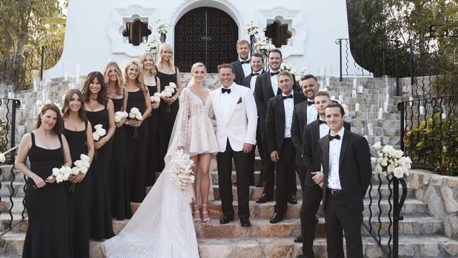 Karl Stefanovic and Jasmine Yarbrough's wedding in Cabo.
