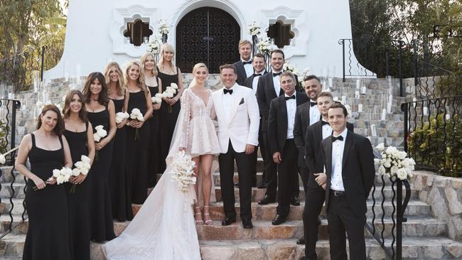 Karl Stefanovic and Jasmine Yarbrough's wedding in Cabo.