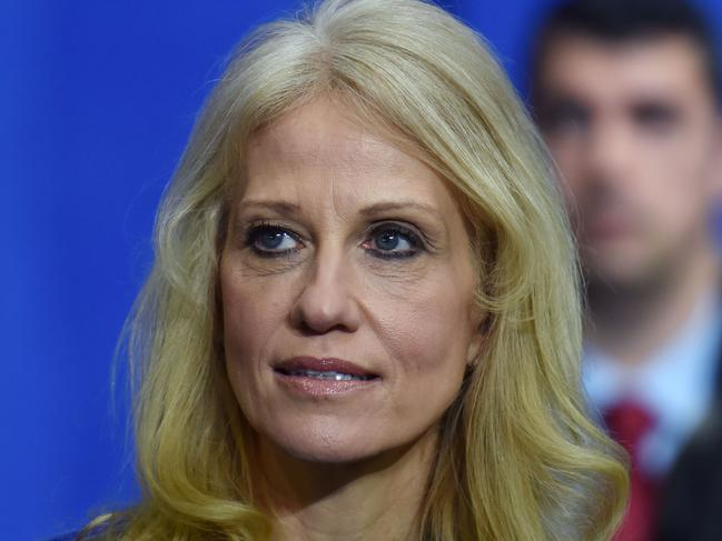 Counsellor to the President Kellyanne Conway. Picture: AFP