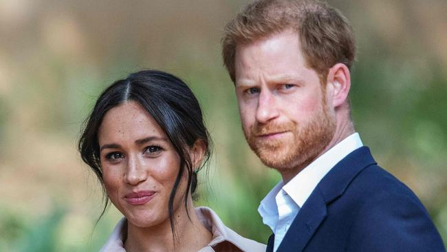 Harry and Meghan's appearance in the documentary made headlines in October. Picture: AFP.