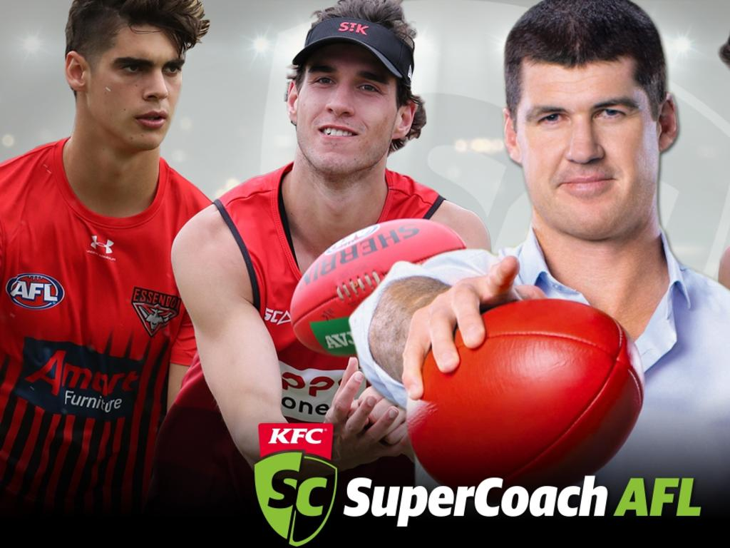 Jonathan Brown top SuperCoach rookies promo.