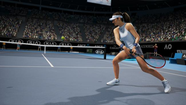 A screenshot of AO Tennis.