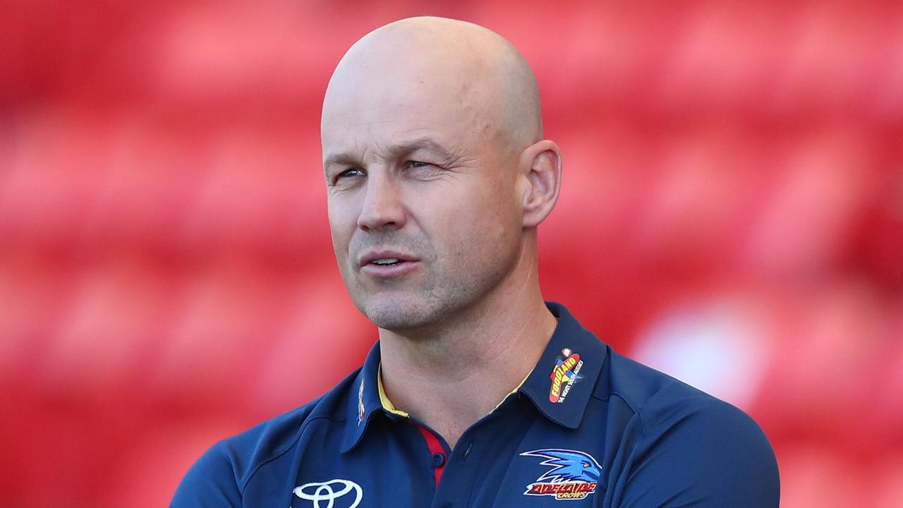 Crows coach Matthew Nicks says his club will pick the best player of this year's AFL draft class with Pick 1. Picture: Chris Hyde