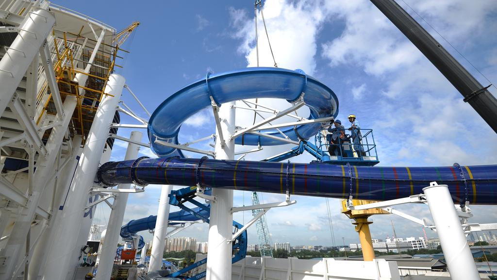 Pacific Dawn Makeover With Two New Water Parks And Modern