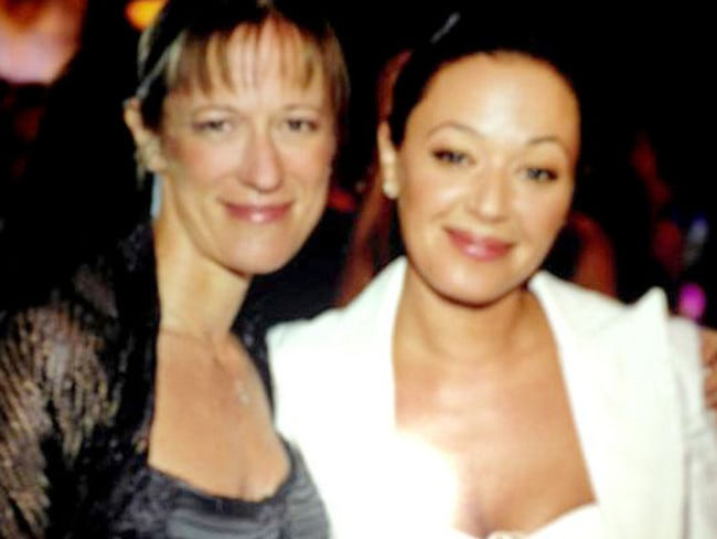Shelly Miscavige and Leah Remini.