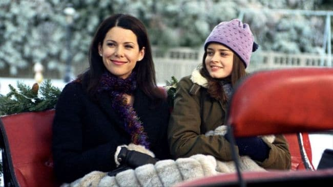 It's the mother daughter bond a girl dreams of. Image: Gilmore Girls