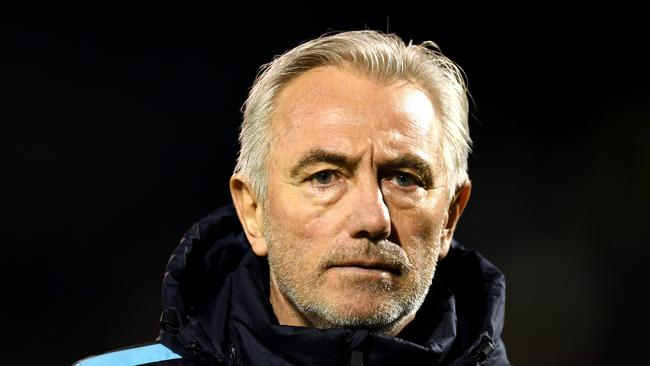 Bert van Marwijk, Head coach of Australia looks on prior to the International friendly between Australia and Colombia