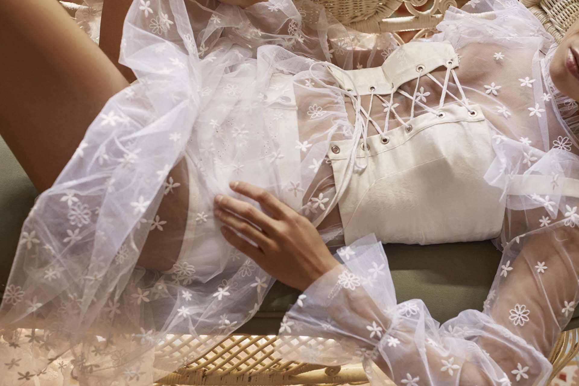Get to know the affordable LA-based label brides are choosing to wear down the aisle