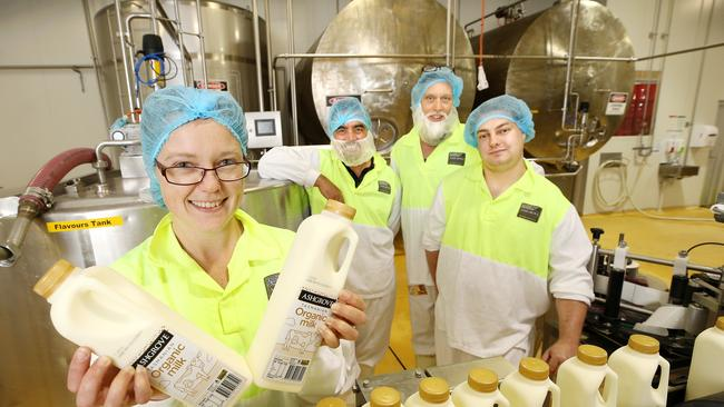 A new report into manufacturing in Australia used Tasmania dairy processor Ashgrove as an example of resilient strategies.