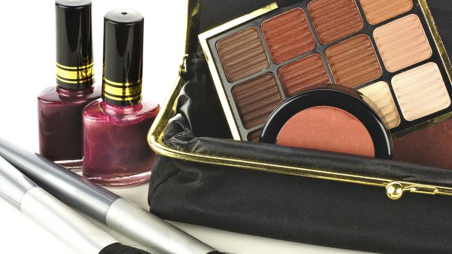 Make up bags are the perfect breeding ground for microorganisms. Picture: iStock