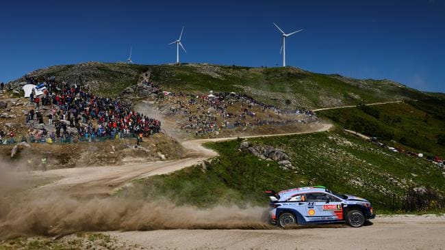 Hayden Paddon will be pushing for a strong result in Portugal. Pic: RaceEMotion