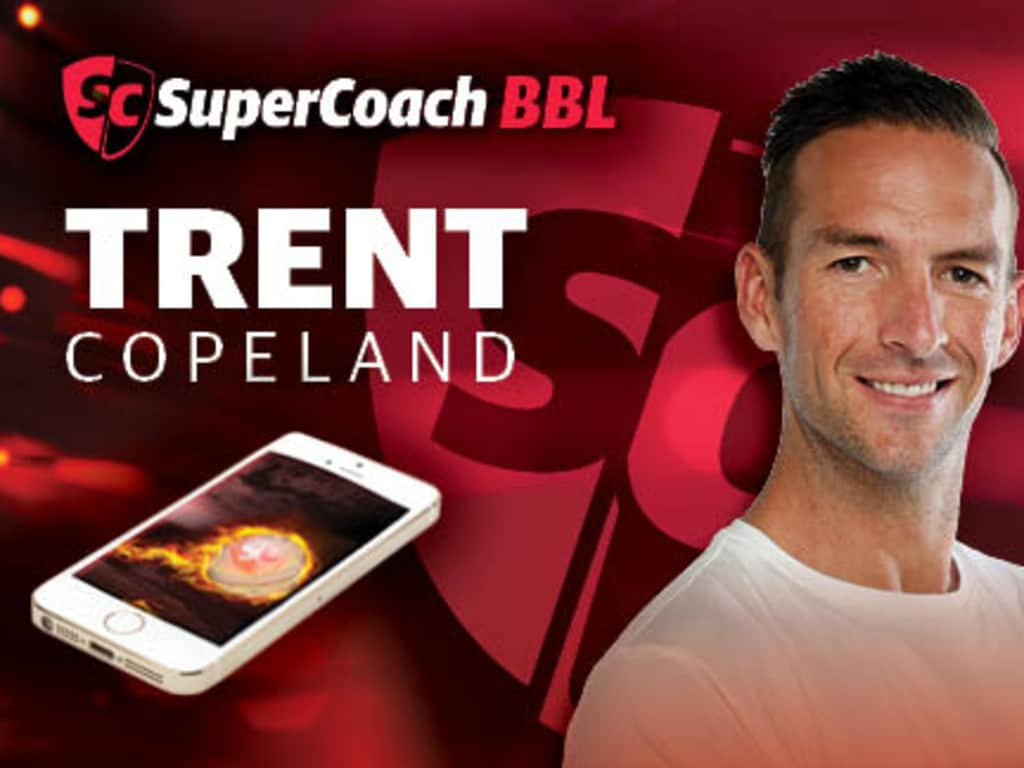 Trent Copeland, former Test quick and reigning Sheffield Shield Player of the Year.