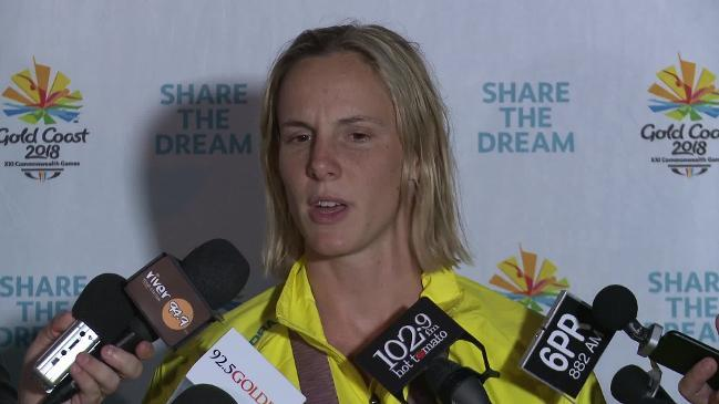 Bronte Campbell reflects on her 'incredible week' at Comm Games