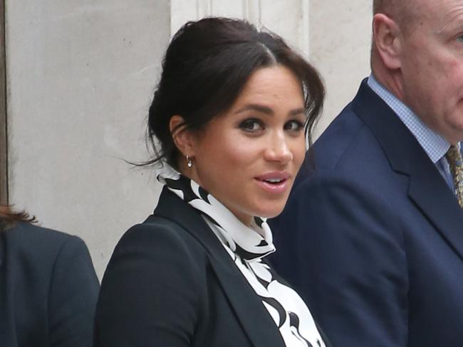 Meghan has spent up big in her first few months as a royal. Picture: Trevor Adams/Matrixpictures.co.uk