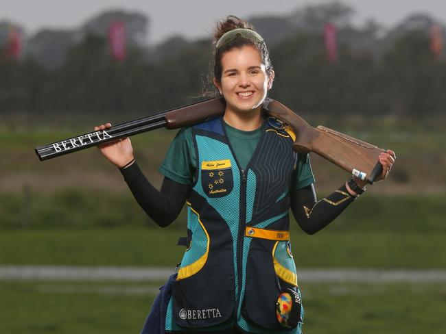 Aislin Jones will compete in the women's skeet at the Rio Olympics.