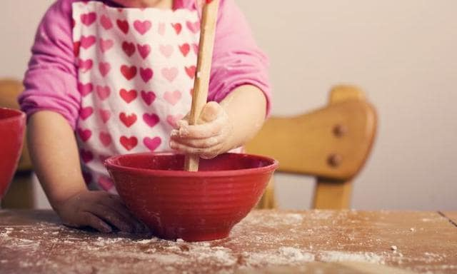 How cooking helps kids learn