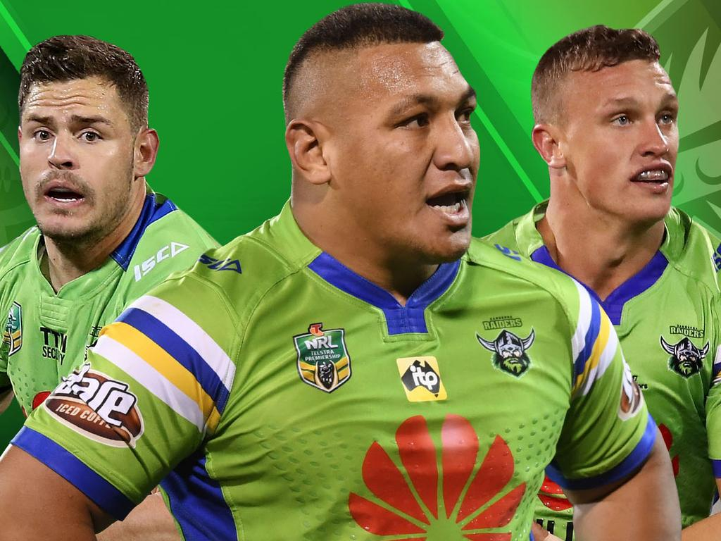Canberra Raiders' best 17 for 2019.