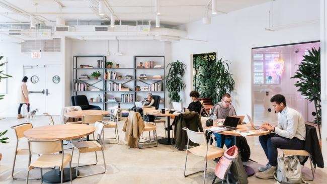 Myer's nearly 7000 square metre floor will be converted to co-working space similar to this.