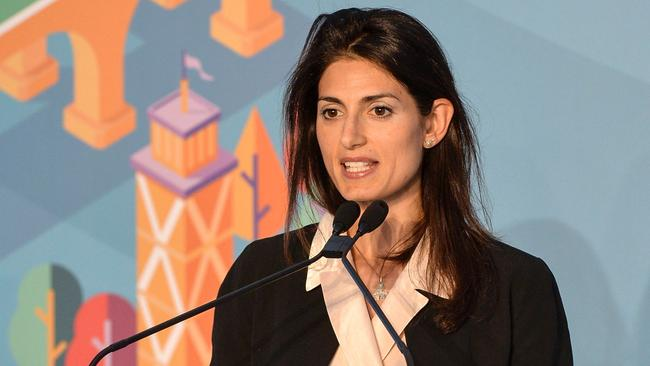 Rome's mayor Virginia Raggi appears to have backtracked on the council's decision. Picture: AFP