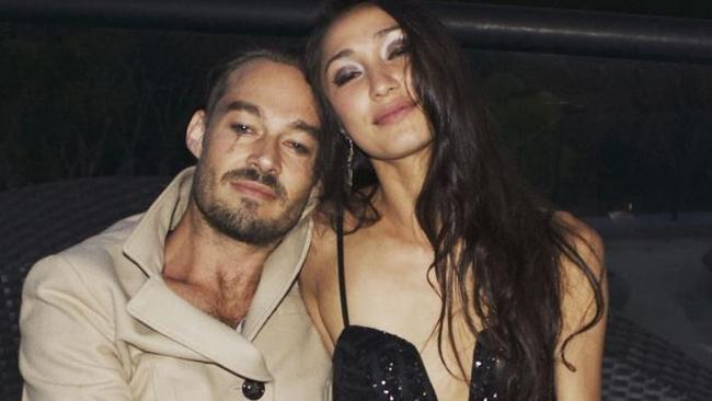 Image result for Daniel Johns and Estelita Huijer