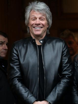 Jon Bon Jovi's parents were both in the US Marines. Picture: Chris Jackson/Getty Images.