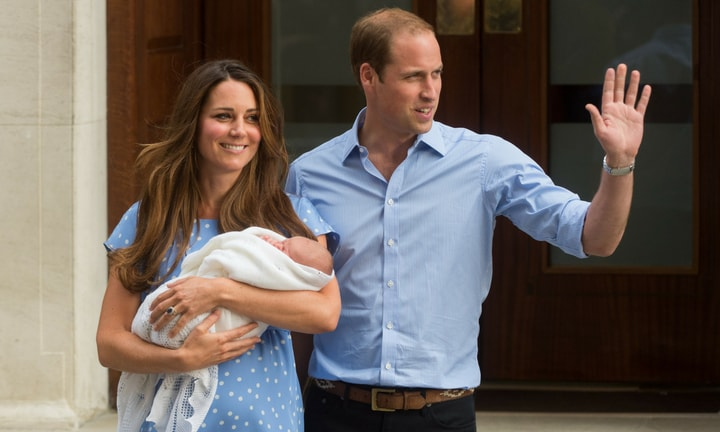 Most women don't emerge from hospital looking like Kate Middleton did. Picture: Getty