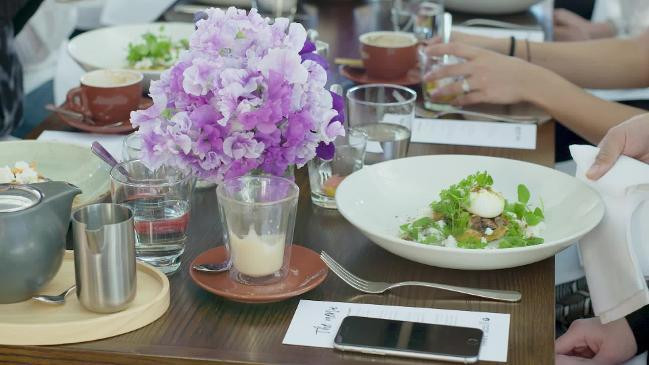 Vogue Codes Connected Breakfasts with Julie Stevanja