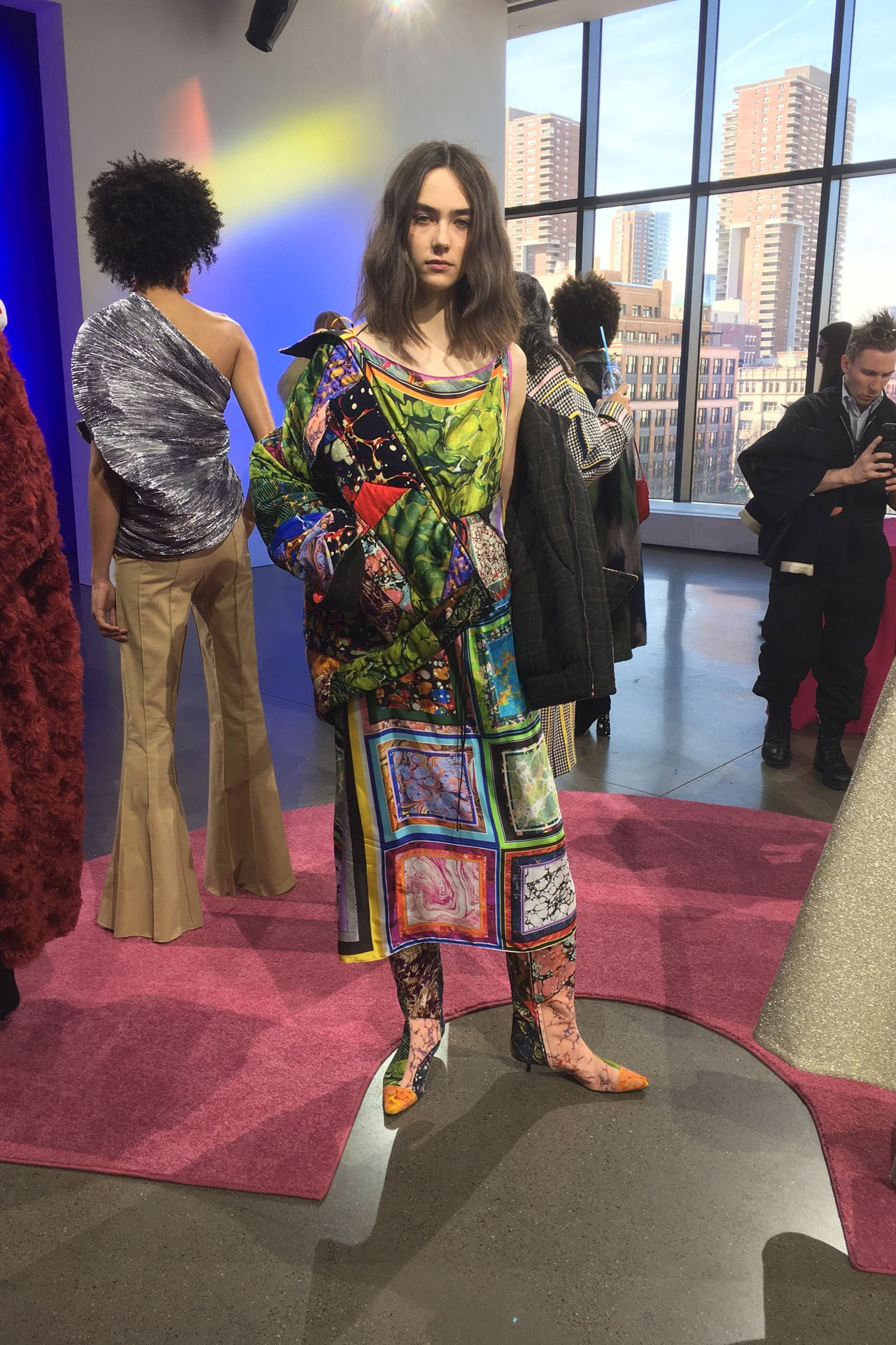 Forget florals: Rosie Assoulin just did the print of the season