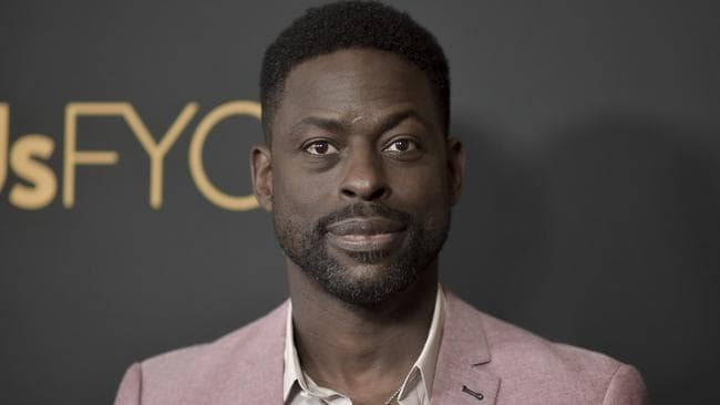 Sterling K. Brown would be Sorkin's pick to play the president. Picture: Richard Shotwell/Invision/AP