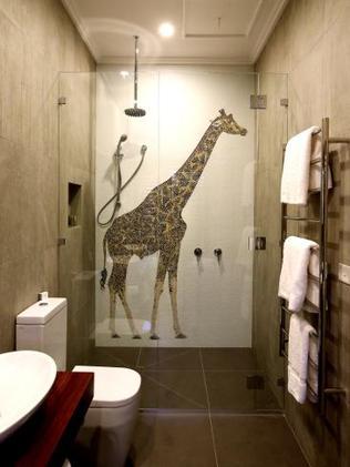 Yep, that's a giraffe mosaic. Photo: Supplied