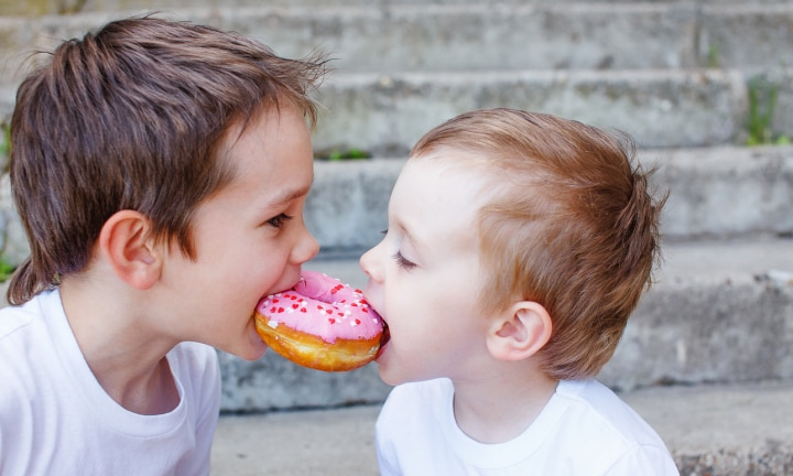 Is my emotional eating affecting my sons?