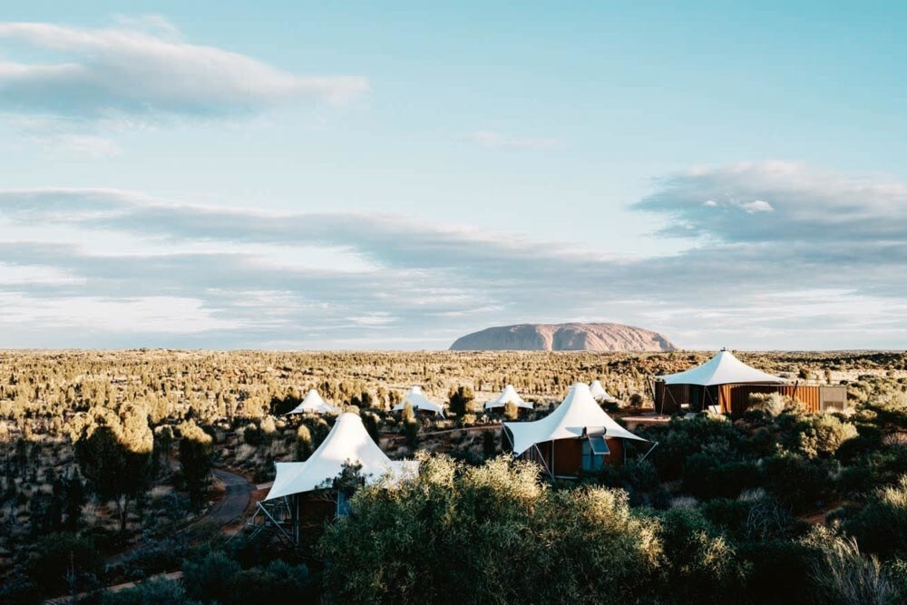 Inside Longitude 131º, the luxury resort in the heart of the Australian desert