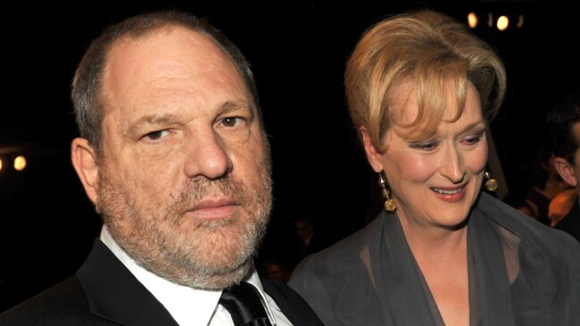 Harvey Weinstein and Meryl Streep at the Screen Actors Guild Awards in 2012. Photo: Getty