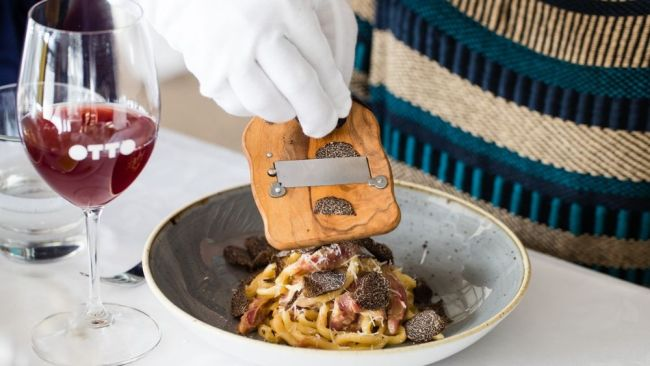 Truffle pasta was the answer. Image: OTTO