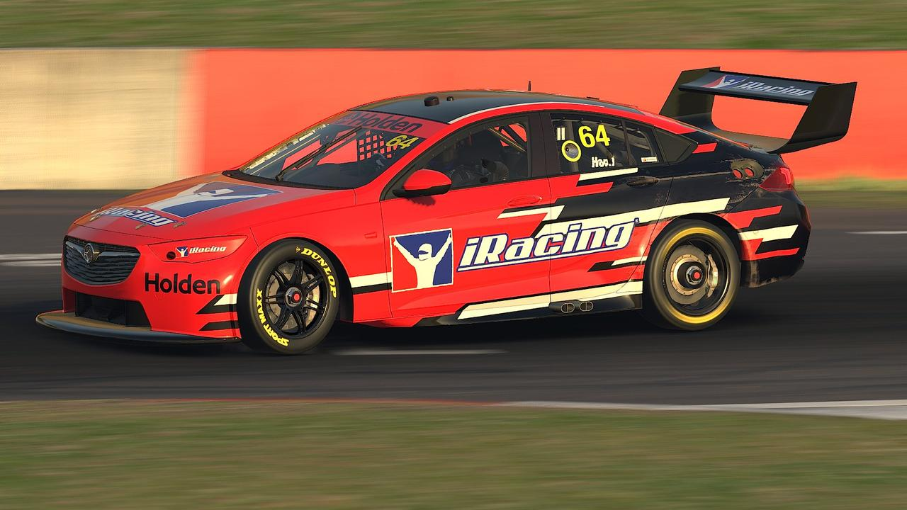 The iRacing Holden Commodore. Pic: @iRacing