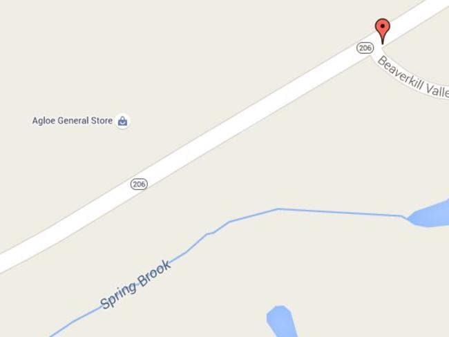 The general store in Agloe did exist, at least for a while. Picture: Google Maps