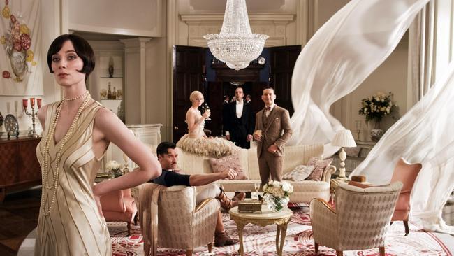 Debicki as Jordan Baker, left, in a scene from The Great Gatsby.