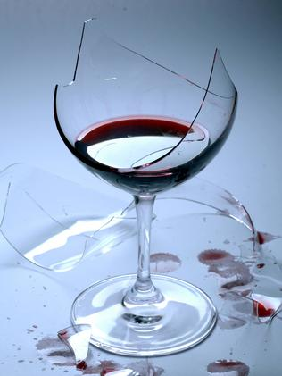 Who knew a broken wine glass could cost so much money?