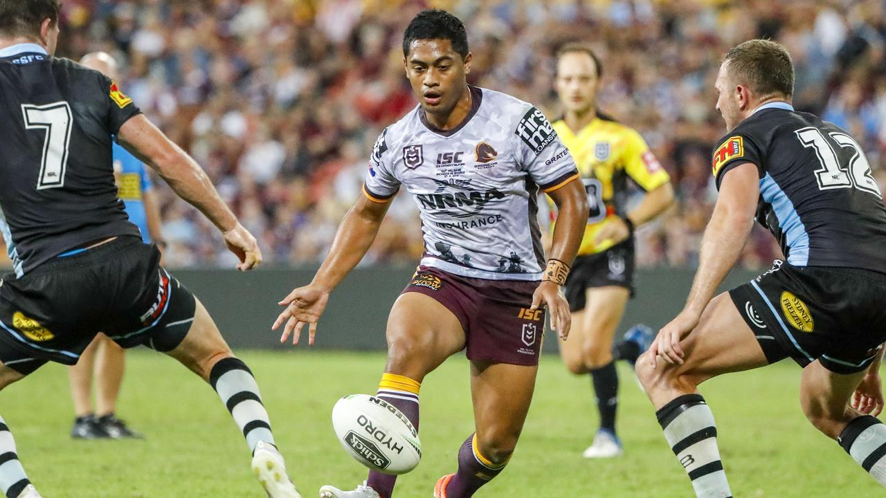 Anthony Milford impressed Kevin Walters with his kicking game against the Sharks.