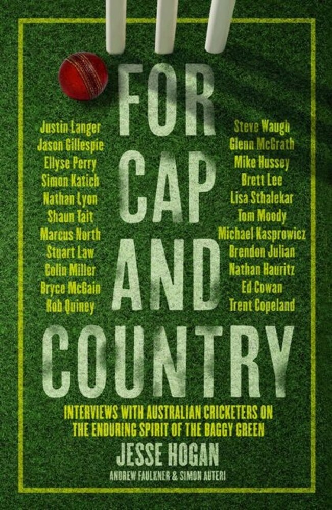 The book details the stories of more than 20 Australian cricketers.