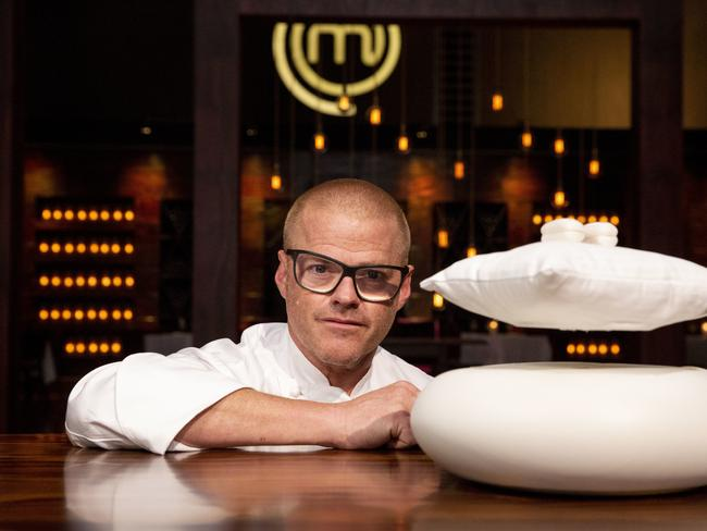 "Heston Blumenthal's ""counting sheep"" dessert took five-and-a-half hours to make."