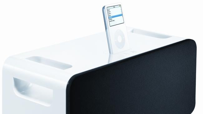 Apple iPod Hi-Fi speaker system for its iPod player