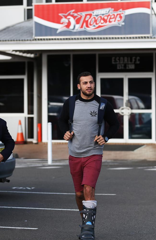 Blake Ferguson after meeting with the Roosters.