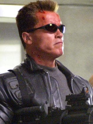 Arnold Schwarzenegger in Terminator 3: Rise of the Machines. Picture: Supplied