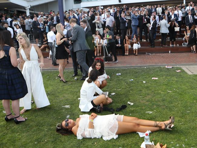 What not to do at Flemington.