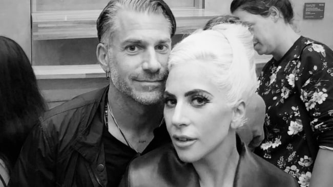 Gaga and Christian. Photo: Instagram @christiancarino