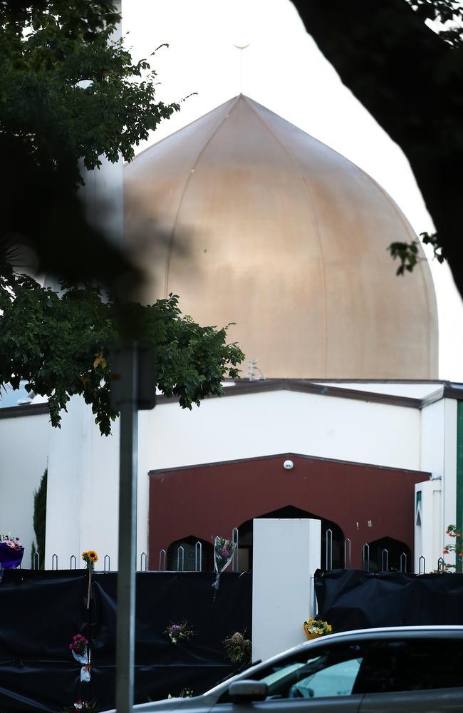 The Al Noor mosque where an Australian terrorist began his massacre. Picture: Getty Images