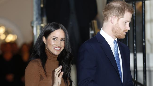Harry and Meghan's trial against  <i>The Mail on Sunday</i> may take place this year. Picture: AP Photo.