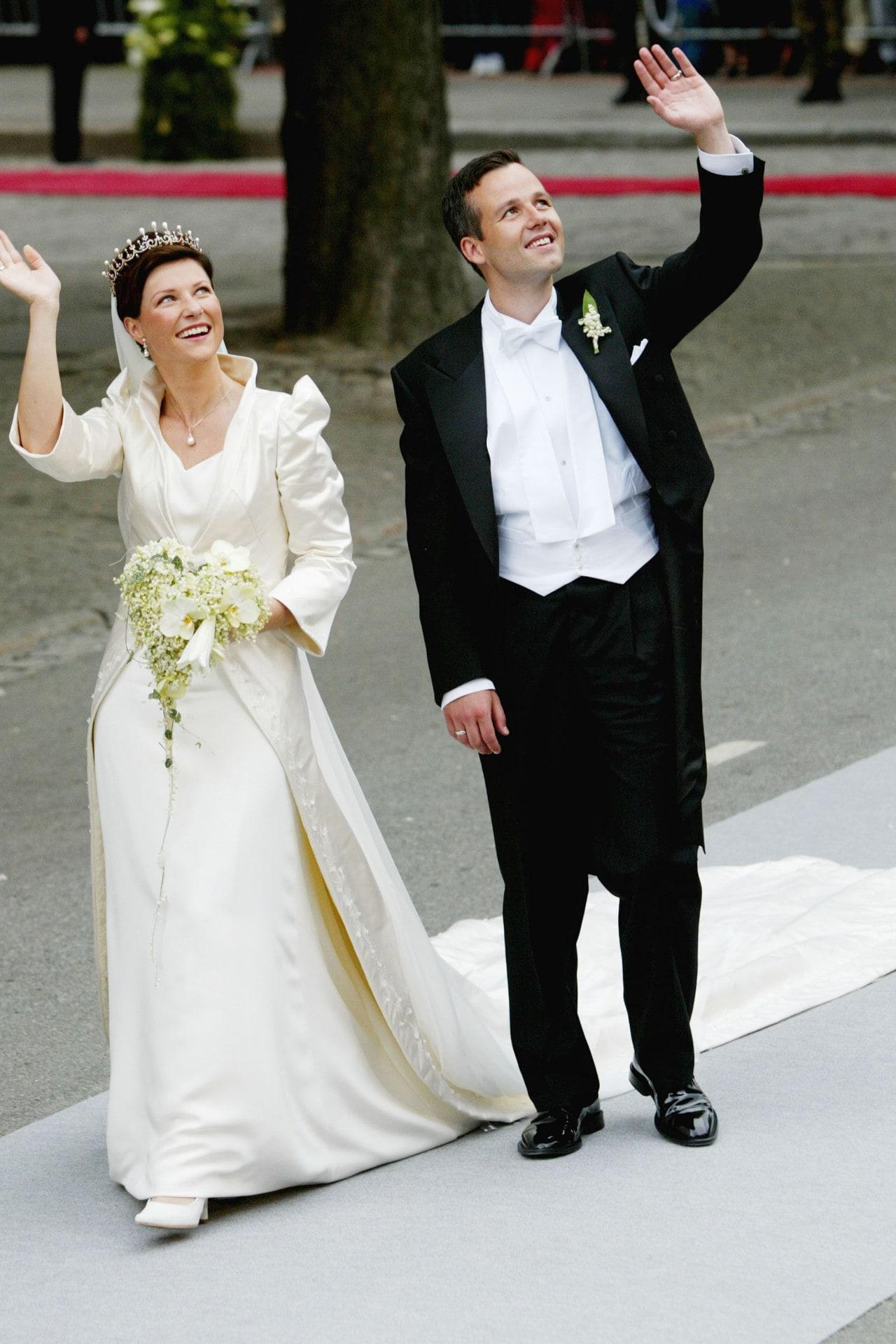 Inside Princess Märtha Louise and Ari Behn's 2002 wedding